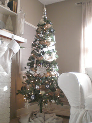Our Christmas Tree and DIY Ornaments