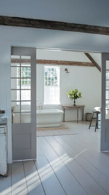 {Home Tour} Nancy Fishelson's Renovated Cottage