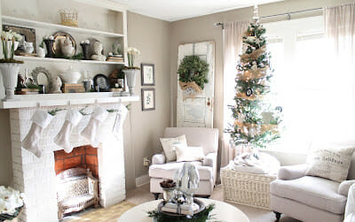 Our Christmas Living Room – Part 1