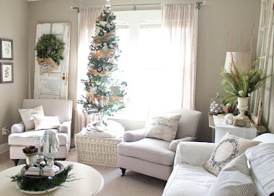 Our Christmas Living Room- Part 2