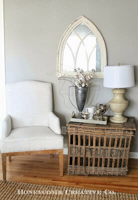 Mixing Vintage and New {First Peek at Our New House}