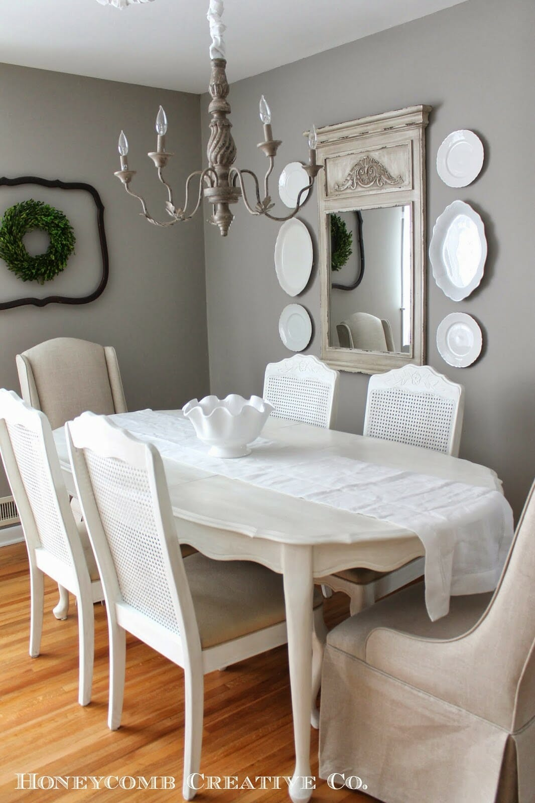 The Finishing Touch on the Dining Room