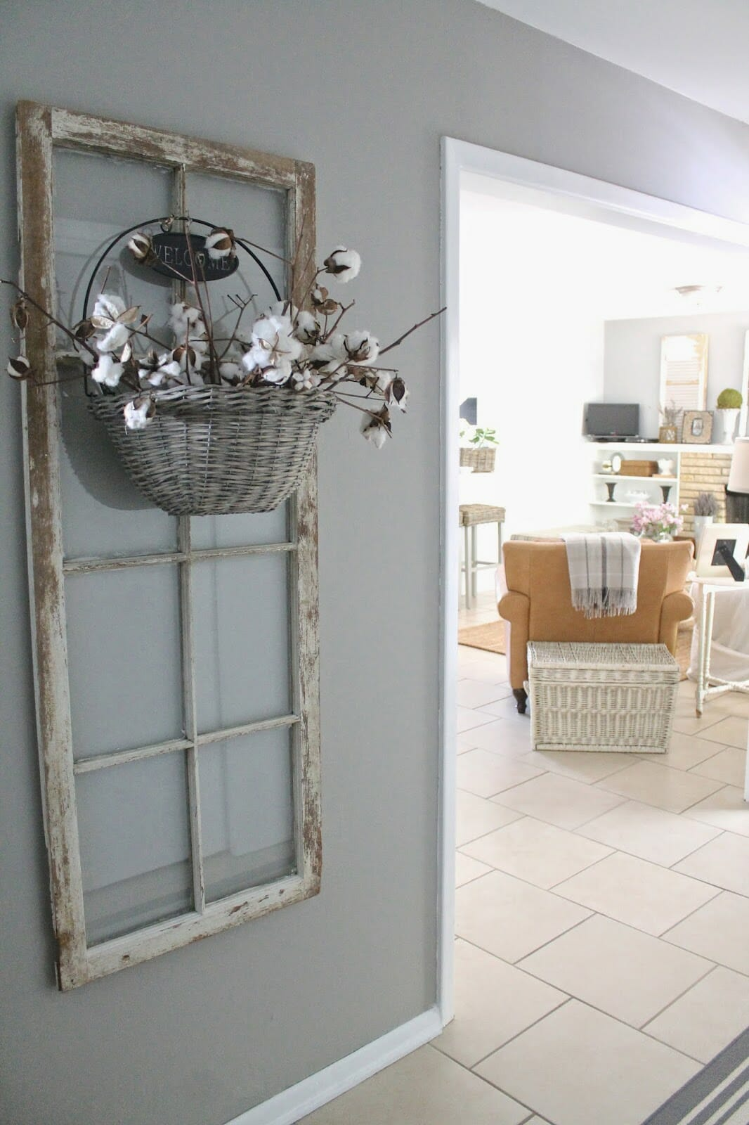 Our Entryway {Accessorizing with Home Decorators Collection}