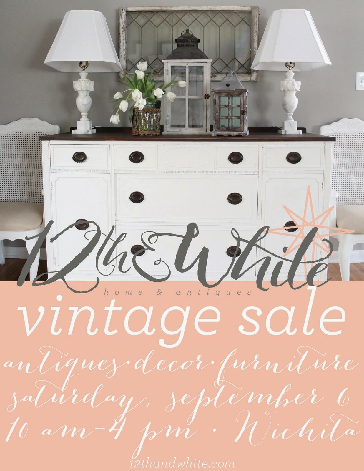 Three Weeks to Go! {12th and White Sale}