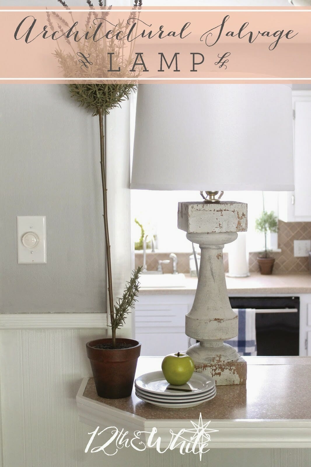 Architectural Salvage Lamp