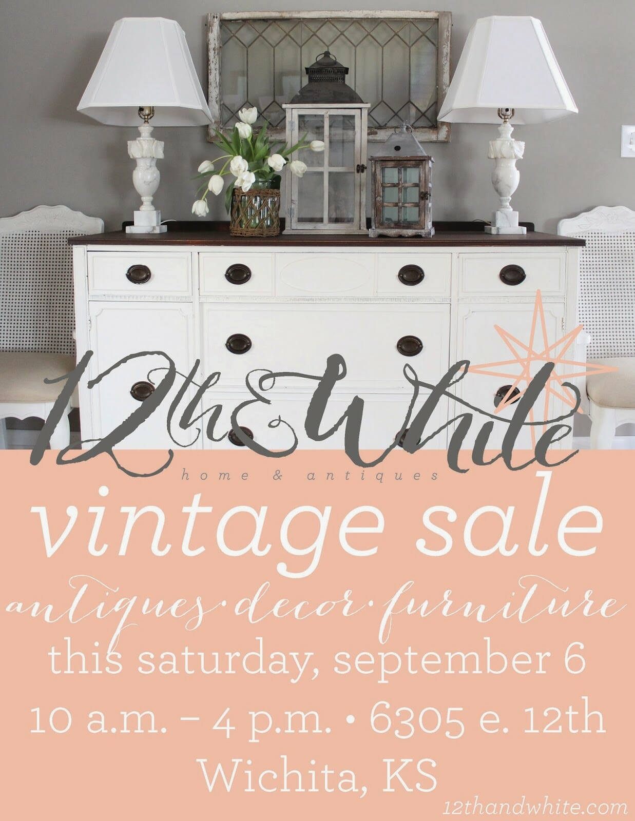 12th and White Sale {Where, When, and the Goods}