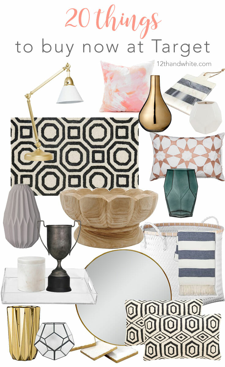 20 Things to Buy Now at Target {Decor Refresh}