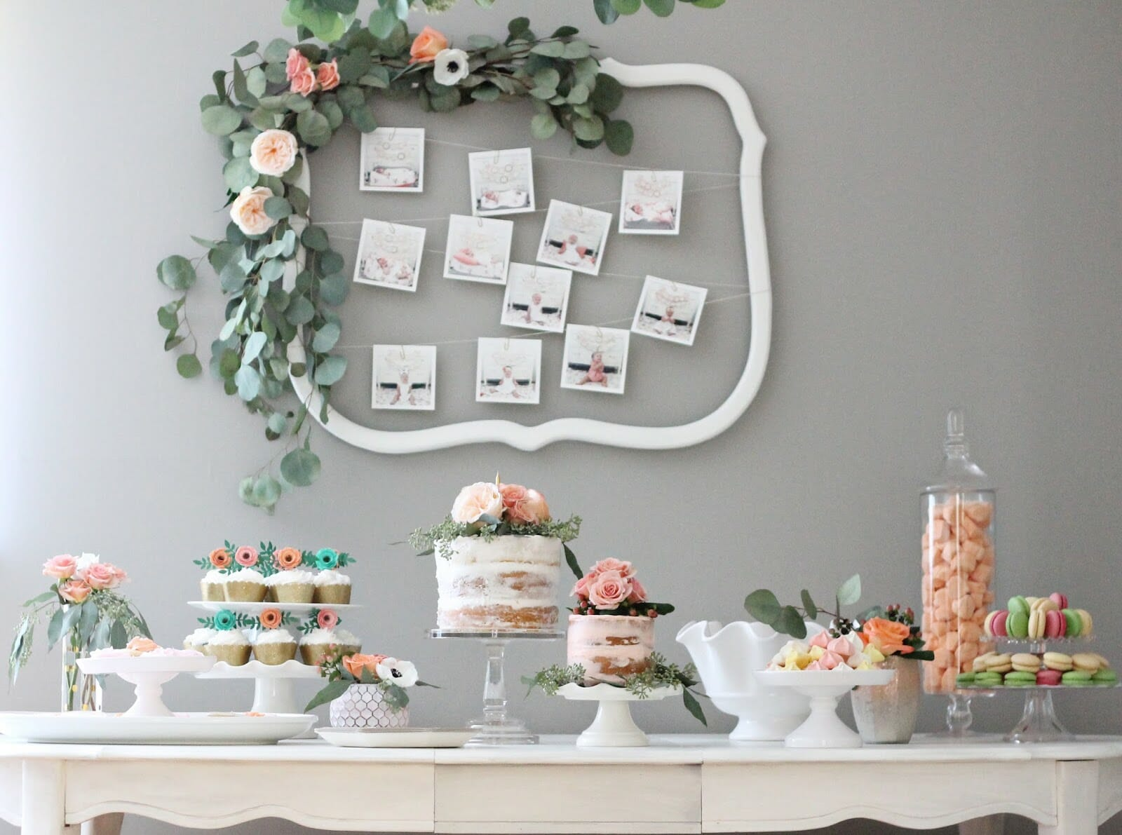 A Rifle Paper Co Inspired Floral First Birthday Party
