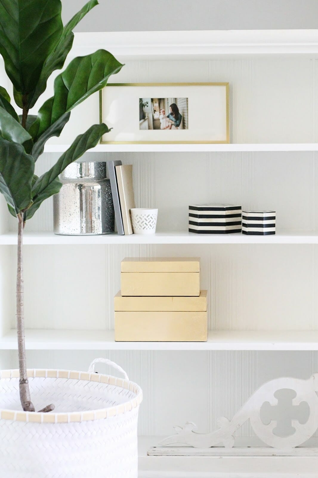 The Best Faux Fiddle Leaf Fig Trees {And Where We Got Ours}