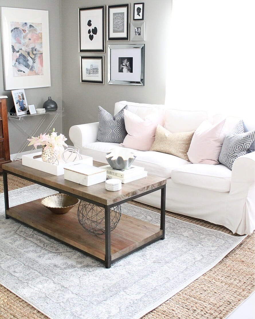 Get the Look: Layered Rugs