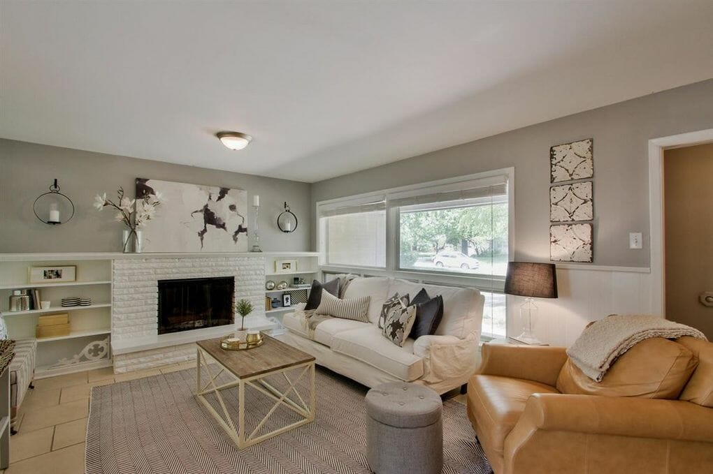 Our House Is For Sale! {And Five Tips for Staging Your Home to Sell}