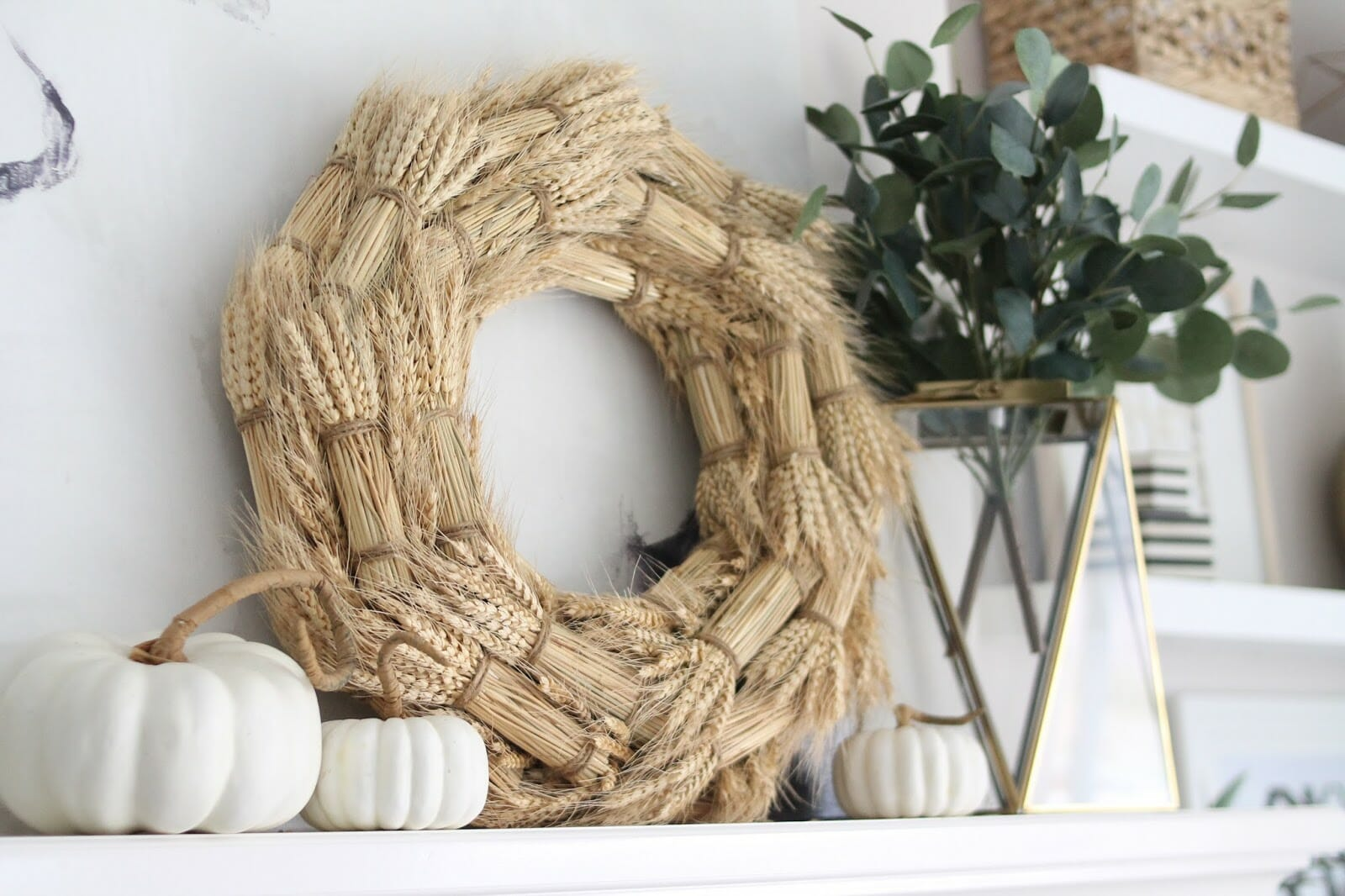 Cozying the House {Easy Fall Decor}