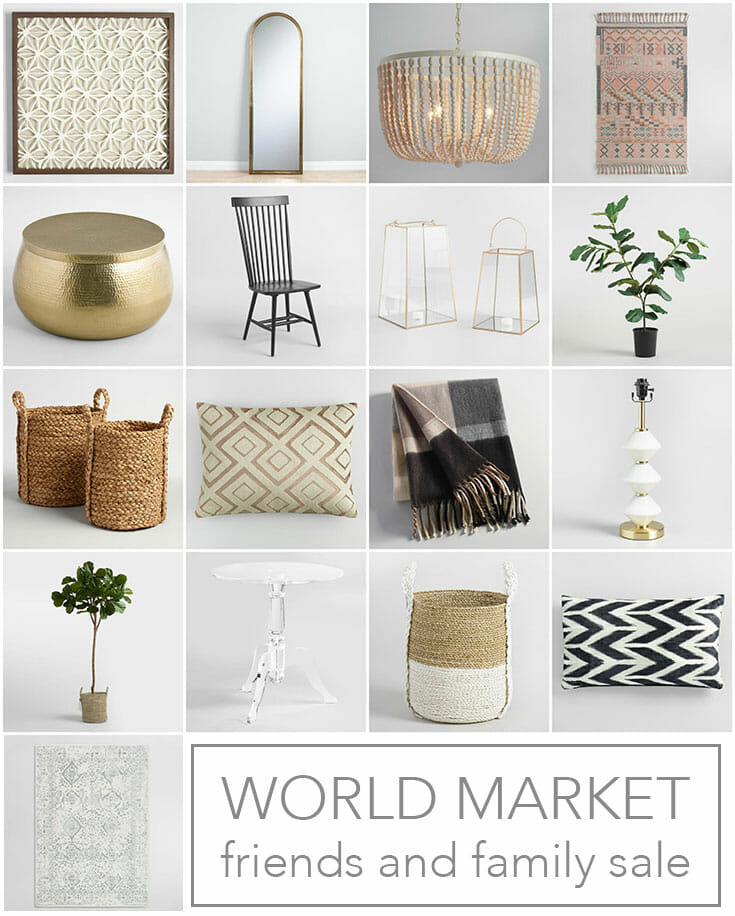 Sale Alert! World Market Friends and Family Event