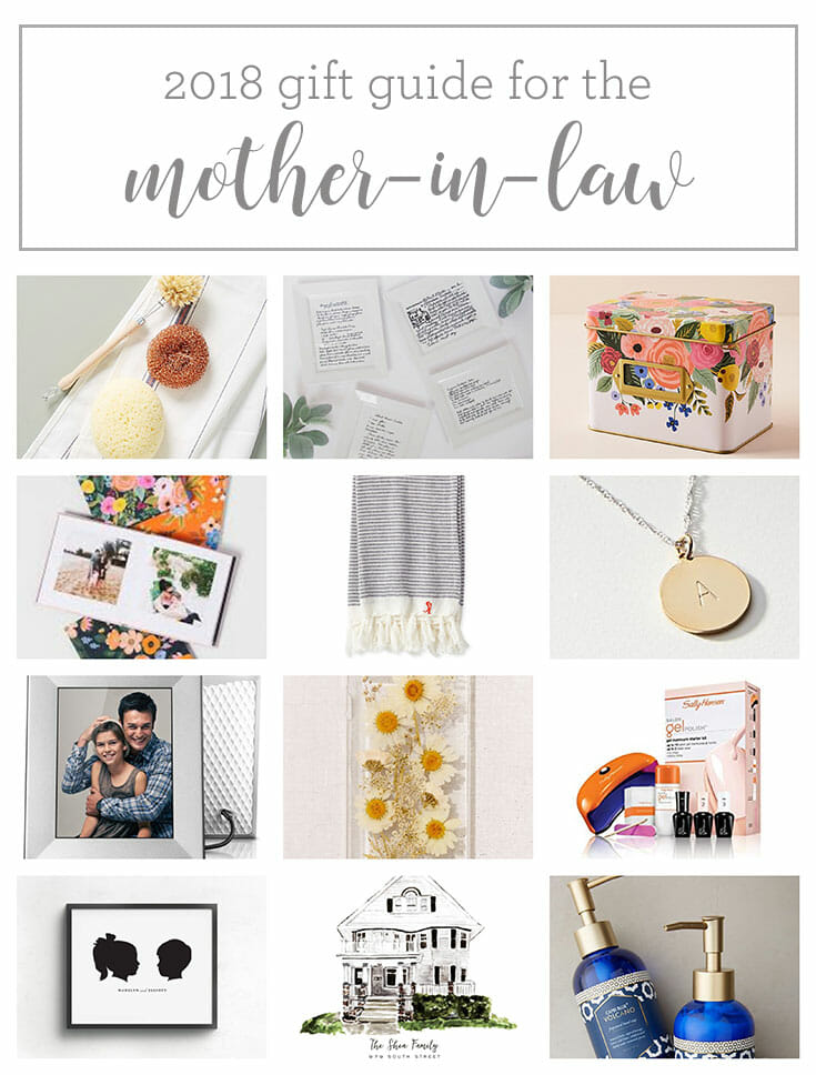 2018 Christmas Gift Guide: Mother-in-Law
