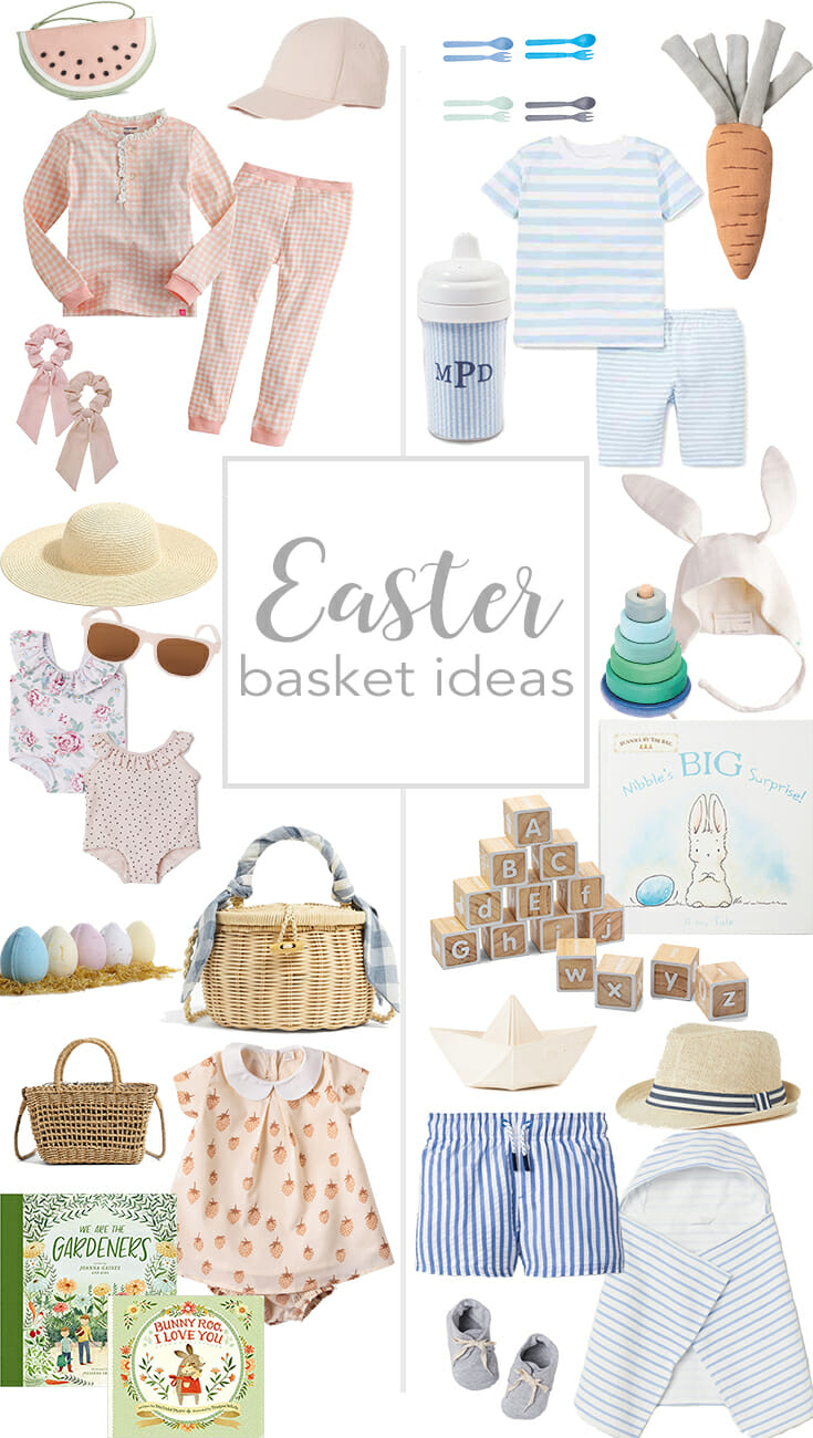 Easter Basket Ideas {Little Girl and Baby Boy}