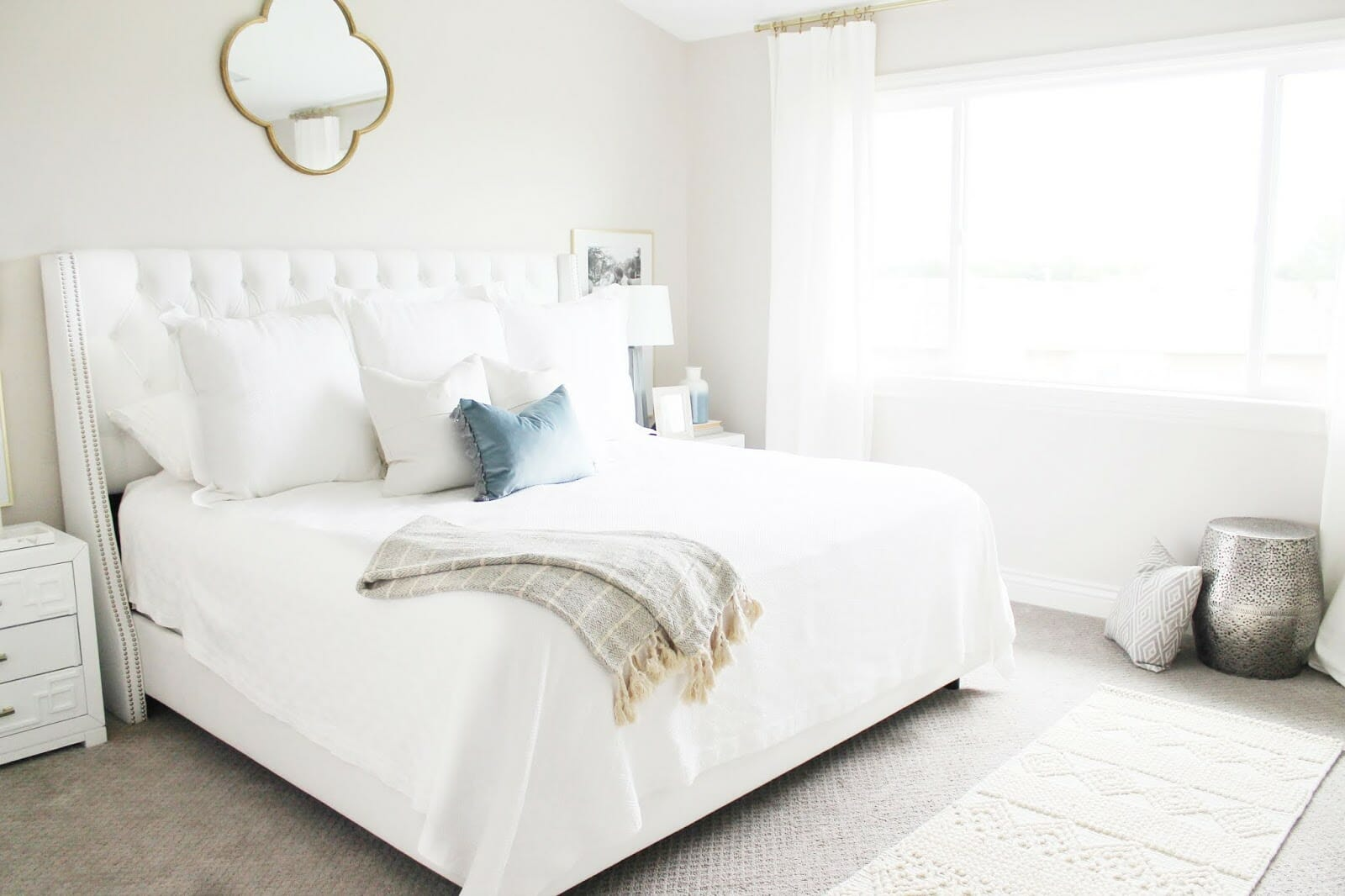 California Spa Inspired Bedroom Refresh (Three Tips for Making Your Bedroom Feel Like a Spa)