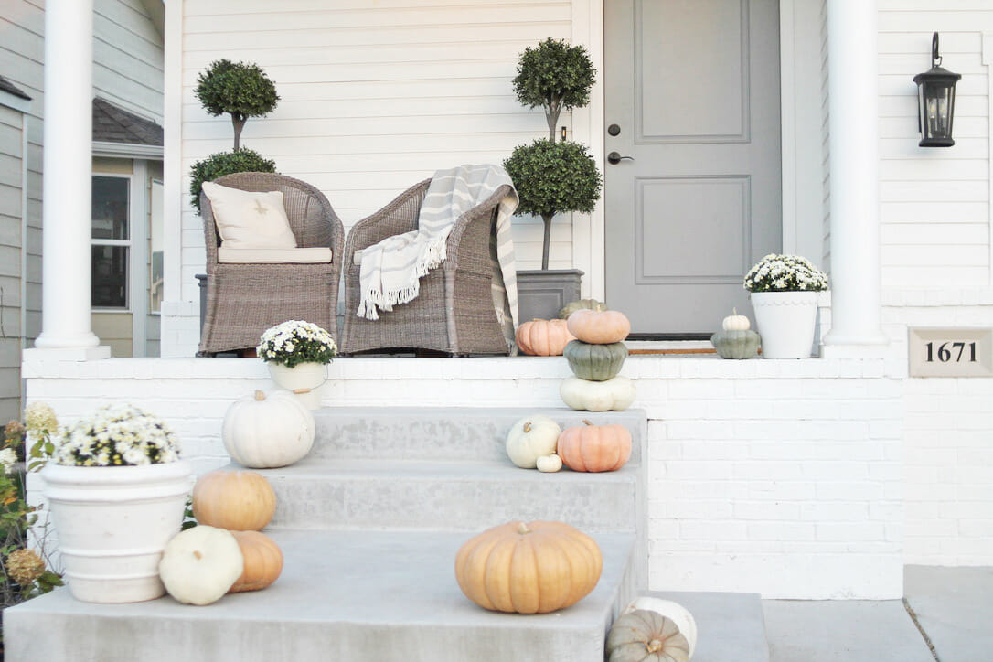Our Fall Porch 2020
