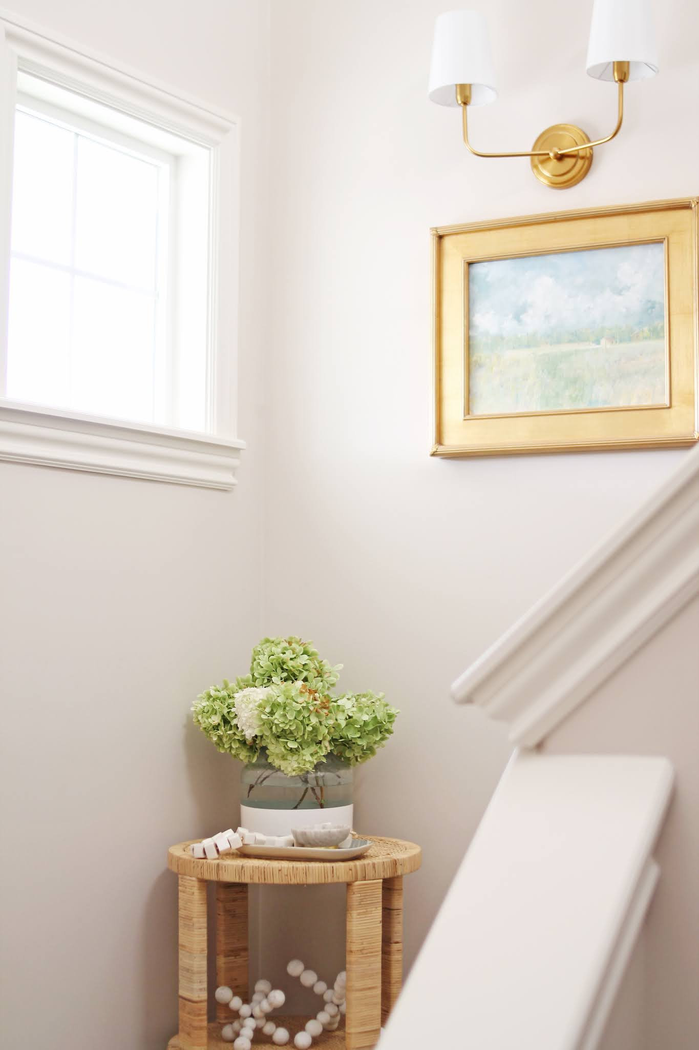 How to Fill a Blank Stair Wall